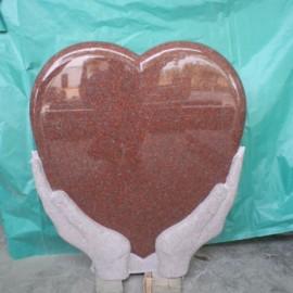 Hjerteformet Gravstein PG SW 150 NH